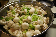 This Chop Suey recipe is made using chunks of pork. This is one of the best I have tasted.  The mixture of sweet and sour using the molasses blends very nicely.  It is a very easy recipe to prepare but does involve 1 to 1½ hours cooking time. This recipe is well worth the effort. Give it a try. I hope you enjoy.