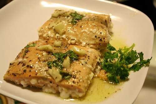 Simple Baked Salmon Recipe picture