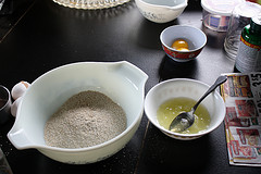 Simple Oat Bran Muffin Recipe dry ingredients picture