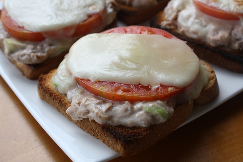 Tuna Melt Recipe picture