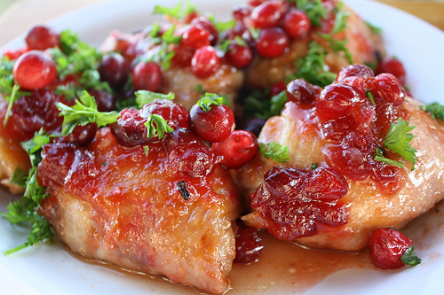 Glazed Cranberry Chicken Thigh Recipe picture