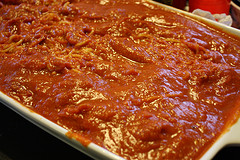 Baked Italian Spaghetti and Meatball Recipe sauce mix
