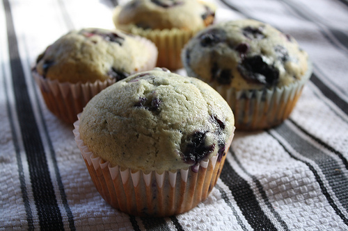 create them from scratch. This Simple Blueberry Muffin Recipe is tops.