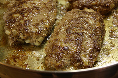 Simple Salisbury Steak cooking picture