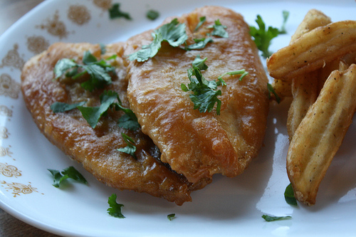 Recipe for deep fried fish for Carbs in fried fish