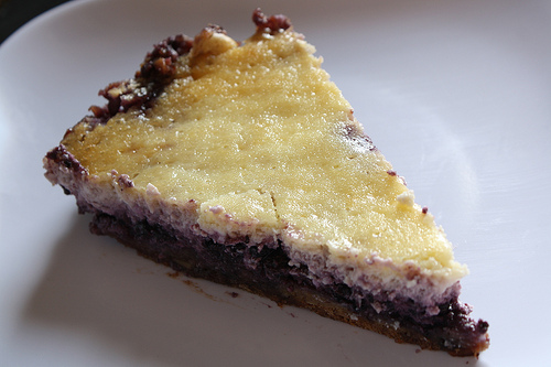 Blueberry Sour Cream Cheesecake Recipe | Free Delicious ...