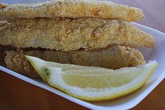 Deep Fried Catfish Strips