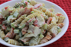 Rainbow Seafood Macaroni Salad Recipe 32