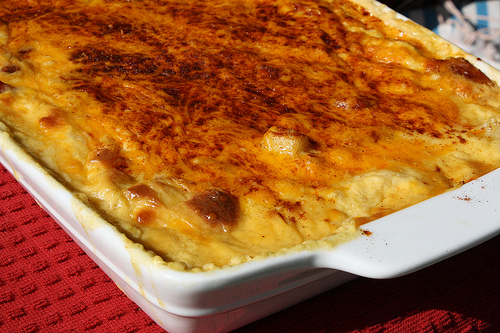 Cheese Potato & Smoked Sausage Casserole Recipe picture