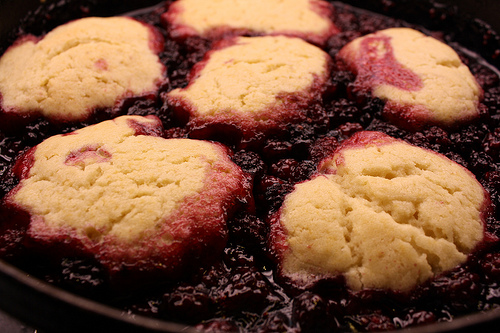 Black Berry Cobbler Recipe picture