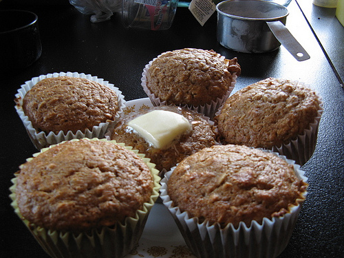Low Fat Oatmeal Muffin Recipe