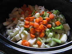 Slow Cooker Crock Pot Vegetable Beef Soup 12