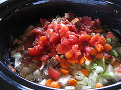 Slow Cooker Crock Pot Vegetable Beef Soup 13