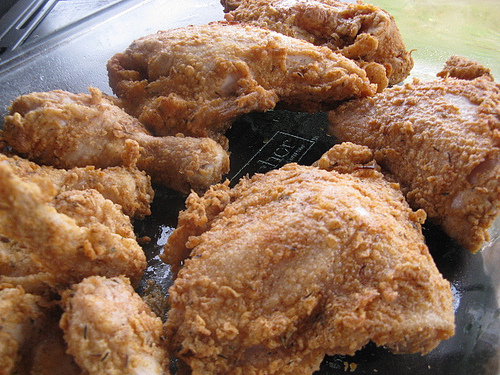 Simple fried chicken recipes