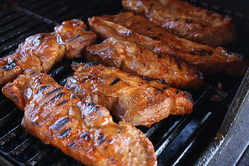 Grilled Honey Garlic Country Ribs Recipe picture