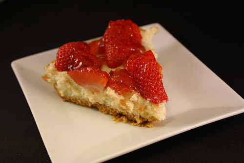 Fresh Strawberry Cheese Cake Recipe