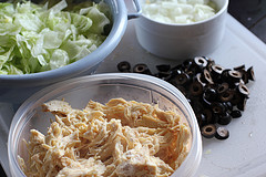 Chicken Chimichanga Recipe mix