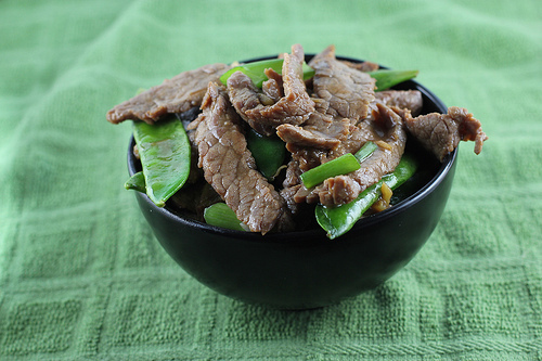 Asian snow pea recipe