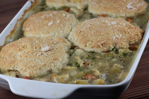 Chicken and Biscuit Casserole Recipe picture