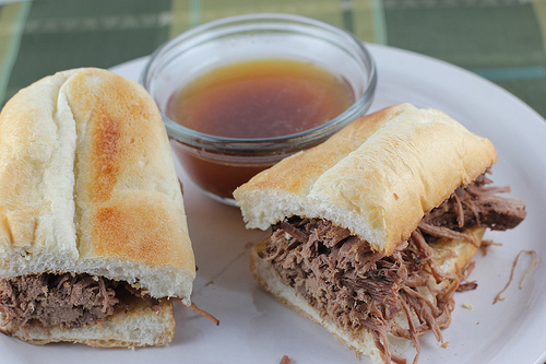 French Beef Dip