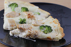 Chicken Alfredo Broccoli Pizza Recipe