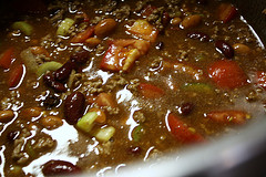 raw chili ingredients
