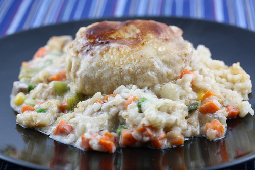Rice and Chicken Vegetable Casserole Recipe