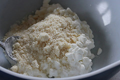 cottage cheese and cheese
