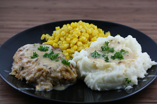Baked Pork Chop with Gravy Recipe
