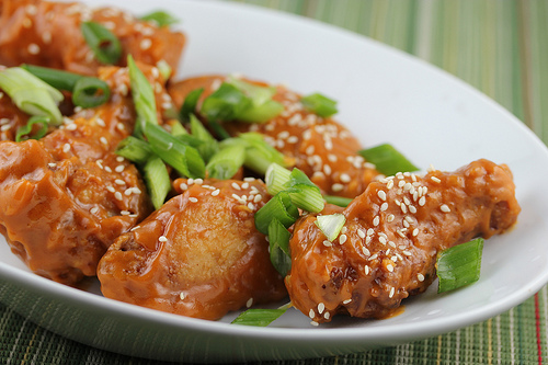 Asian chicken wings