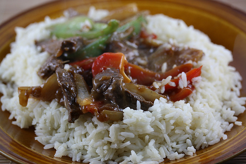 Venison Pepper Steak Stir Fry Recipe