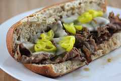 Roast Beef Sandwiches with Melted Provolone Recipe