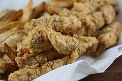 Deep Fried Salmon Fish Sticks Recipe
