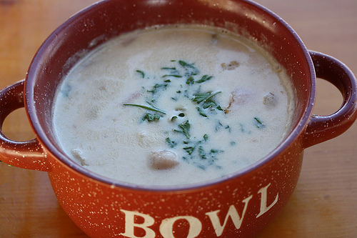 New England Style Clam Chowder Recipe