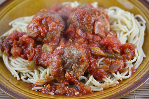 Spaghetti and Turkey Meatball Recipe | Free Delicious ...