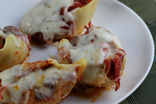 Pizza Stuffed Shell