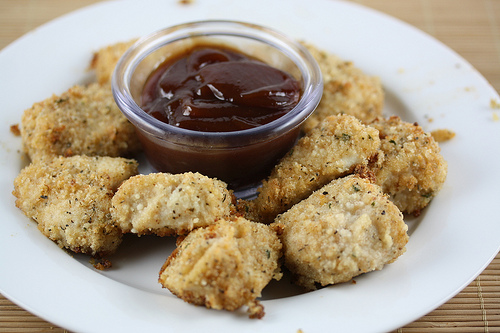 Free Baked Chicken Nuggets Recipe