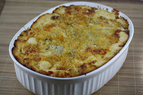 Easy Potato Casserole With Rosemary And Cheese Recipe — Dishmaps