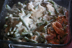 making green bean Casserole