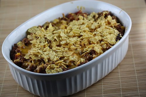 Chili Macaroni Casserole Recipe
