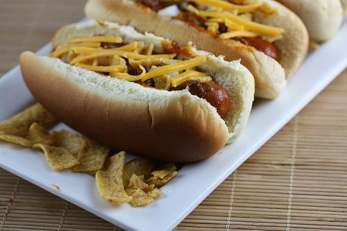 Slow Cooker Bandito Chili Dogs Recipe