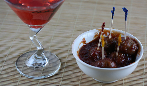 Perfect Cocktail Party Meatballs Recipe