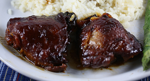 Slow Cooker Saucy Chicken Thighs Recipe