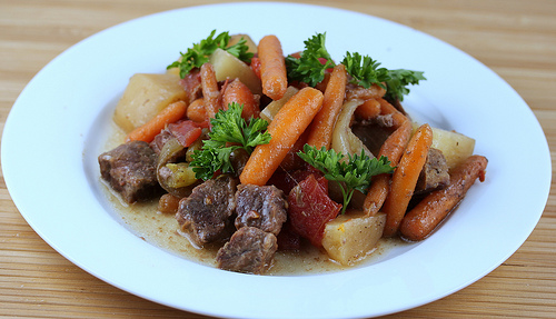 Slow Cooker Traditional Beef Stew