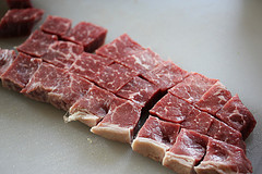 cubed round steak