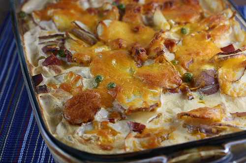 Cream Cheese and Ham Scalloped Potatoes Recipe