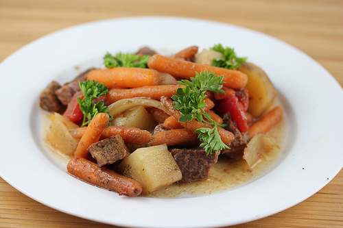 Slow Cooker Traditional Beef Stew Recipe