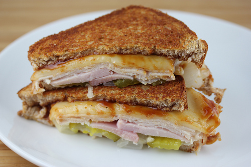 Canadian Bacon Turkey Melt Recipe