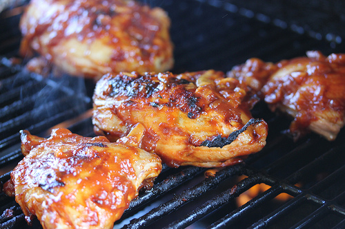 Grilled Barbeque Chicken Recipe