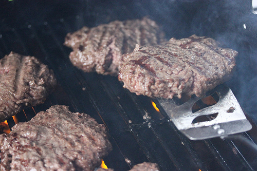grilled western burgers